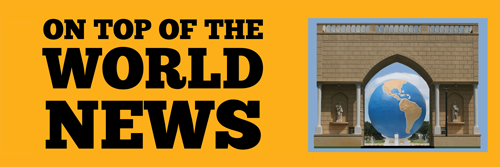Clearwater Newspaper Banner, On Top of the World News. On Top of the World Communities, Clearwater, FL.